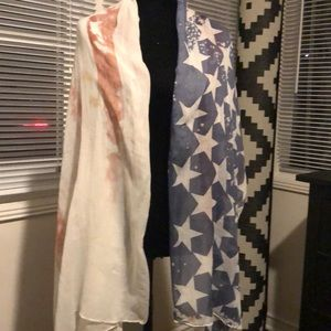 Used long scarf